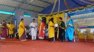 CONVOCATION CEREMONY OF DR. ZAKIR HUSSAIN COLLEGE, ILAYANKUDI