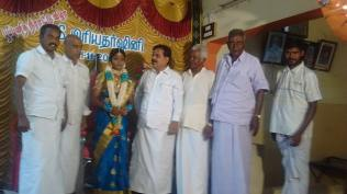 IN THE PUBERTY CEREMONY OF GRAND DAUGHTER OF CONGRESS LEADER AT THIRUPPUVANAM 1