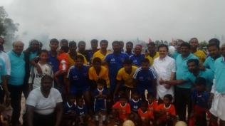 INAUGURATION CEREMONY OF FOOTBALL TOURNAMENT ORGANISED AT KANDANOOR