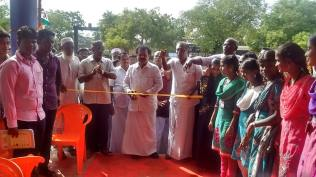 INAUGURATION OF OPEN AUDITORIUM AT DR. ZAKIR HUSSAIN COLLEGE, ILAYANKUDI 1