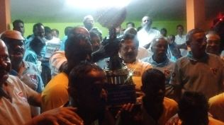 PRIZE DISTRIBUTION CEREMONY OF FOOTBALL TOURNAMENT ORGANISED AT KANDANOOR 3