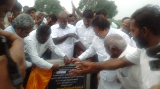 ARASANOOR COMMUNITY HALL FOUNDATION STONE LAYING (8)
